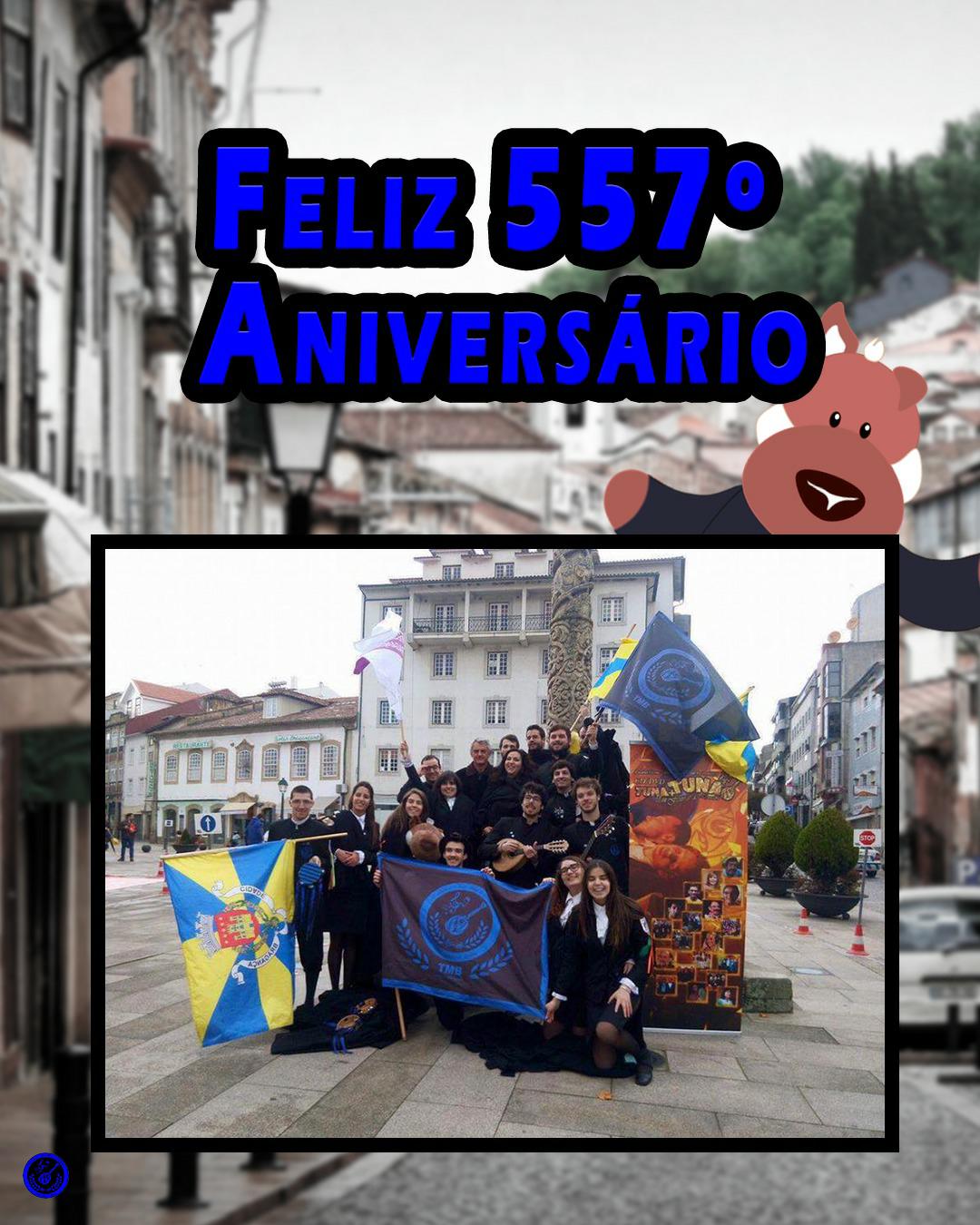 557 Aniversário Bragança