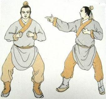 Второй кусок - Натягивать лук влево-вправо, будто пускаешь стрелу