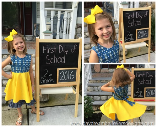 vintage back to school fashion www.daydreambelieversdesigns.com first day of school photos