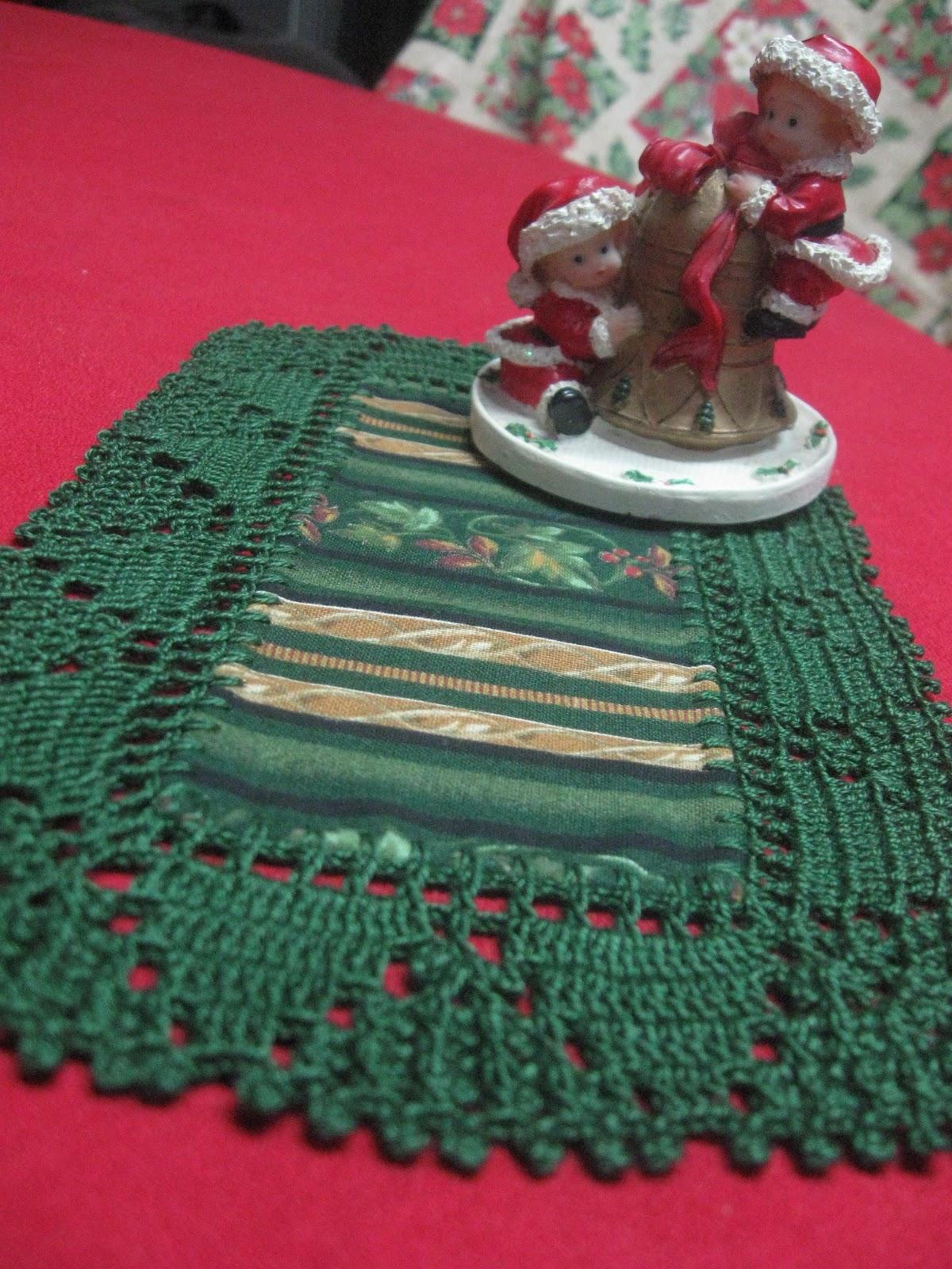 A Mano Tapetes Navide Os Con Borde Tejido A Crochet -> Tapetes Para Sala Tejidos A Crochet