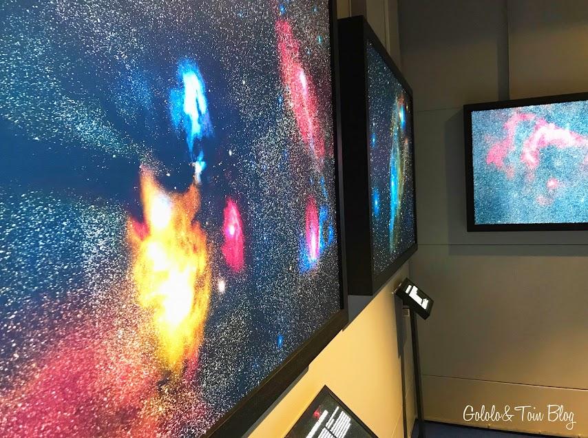 Exposiciones en el Planetario de Madrid