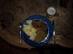 Deutsches Essen zum Abendbrot