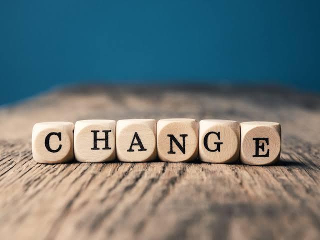 THIS CHANGE
