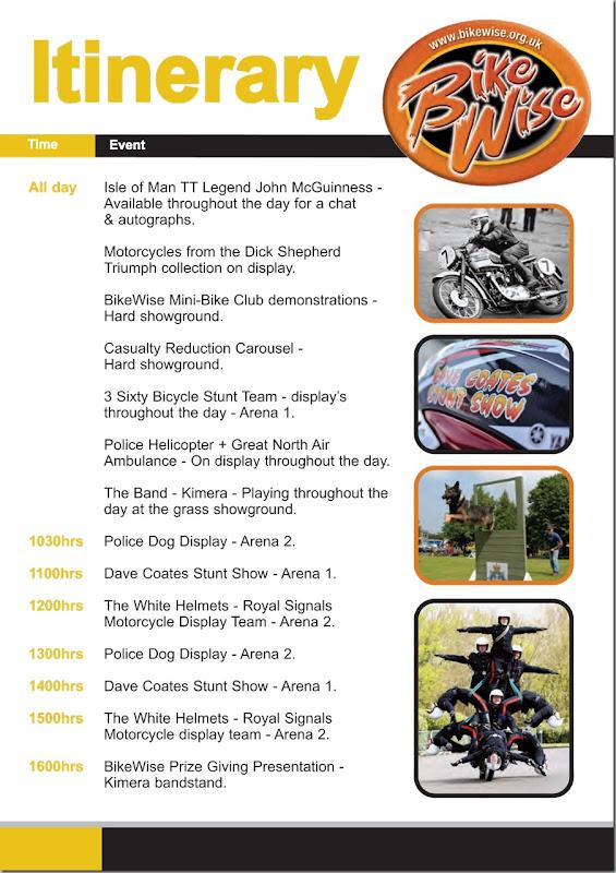 Bikewise-Itinerary-2017