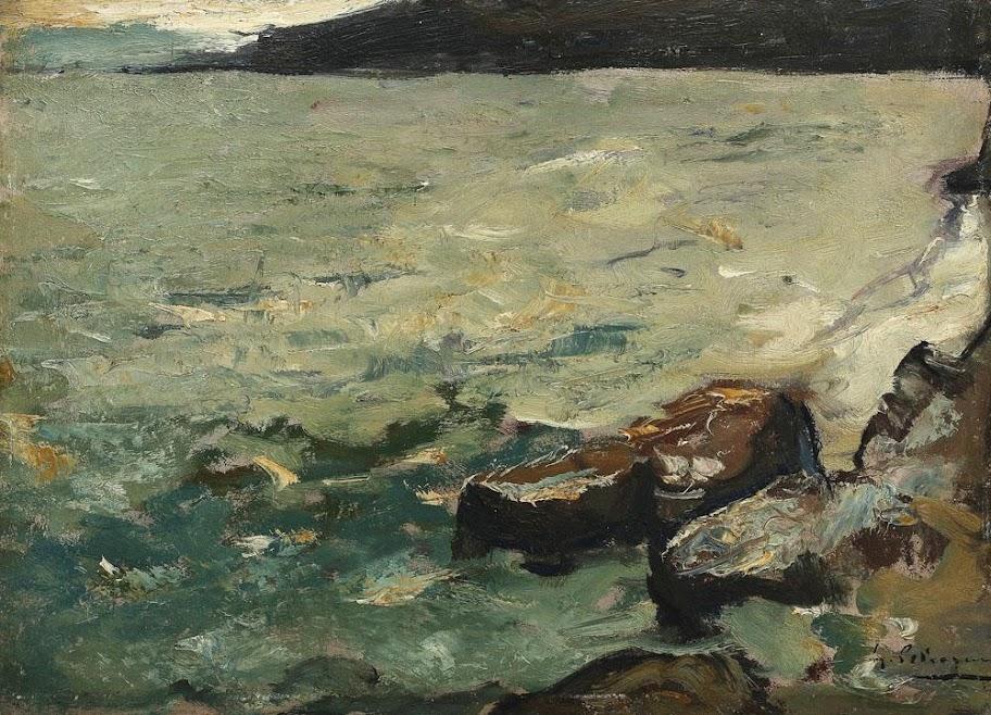 Gheorghe Petrașcu - Țărm, către asfințit