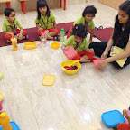 Fruit Salad Day in Nursery (2014-15) at Witty World