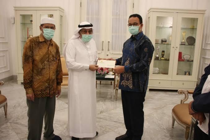 Pemprov DKI Terima Bantuan Rp4 M dari Liga Muslim Dunia untuk Penanggulangan Corona