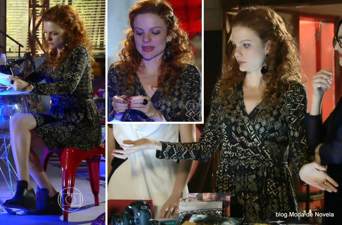 moda da novela Em Família - look da Vanessa dia 24 de maio