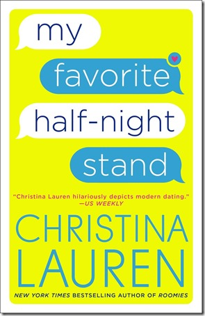 Book Review: My Favorite Half-Night Stand by Christina Lauren | About That Story