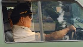 Kepincut Rantis Maung, Bagaimana Selera Mobil Menhan Prabowo?