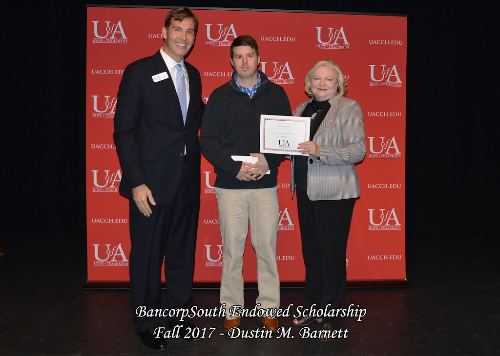 Fall 2017 Foundation Scholarship Ceremony - BancorpSouth%2BEndowed%2BScholarship%2B-%2BDustin%2BBarnett.jpg