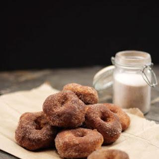 Baked Pumpkin Autumn Maple Doughnuts Recipe