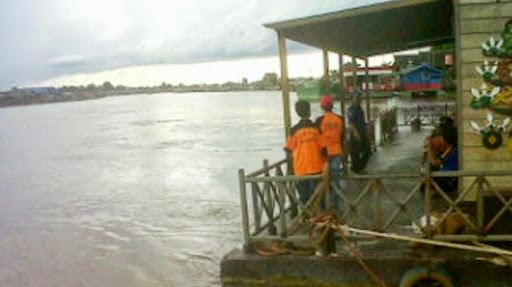 Bercebur ke Sungai Kahayan, Seorang Pria Diduga Tenggelam