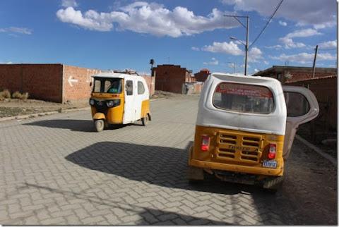 Los Toritos son el transporte vecinal de las zonas alejadas de El Alto