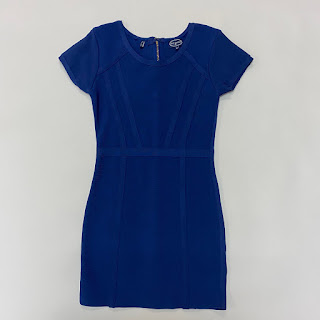 Scoop Royal Blue Ultra Stretch Dress
