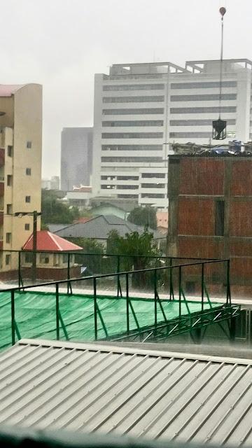 バンコクの豪雨