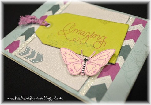 My Crush_blog hop_amazing-butterfly card_arrow sticker