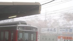 箱根登山線強羅駅