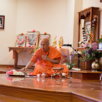 Day 2 Puja by Swami Tyagananda