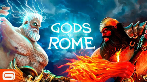 First game one-on-one combat by Gameloft- gods of Rome