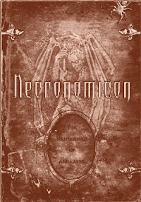 Cover of Howard Phillips Lovecraft's Book Historia Del Necronomicon In Spanish