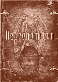 Cover of Howard Phillips Lovecraft's Book Historia Del Necronomicon In Spanish