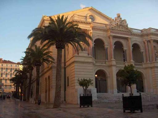 Le théâtre municipal de Toulon