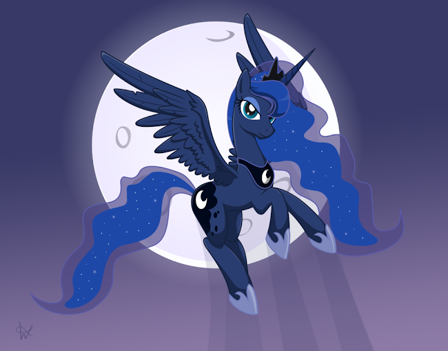650 x 509 png 220kB, How to draw : princess luna (page 2)