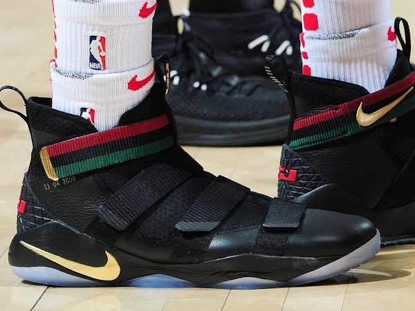 LeBron Soldier 11 BHM is a Tribute to the First Obama Election