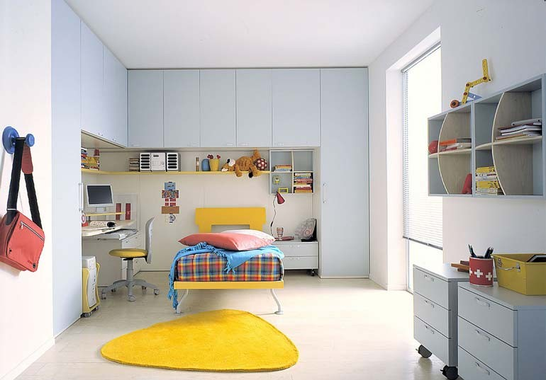 Camerette, letti a castello e scrivanie, camere per bambini e ragazziCarminat...