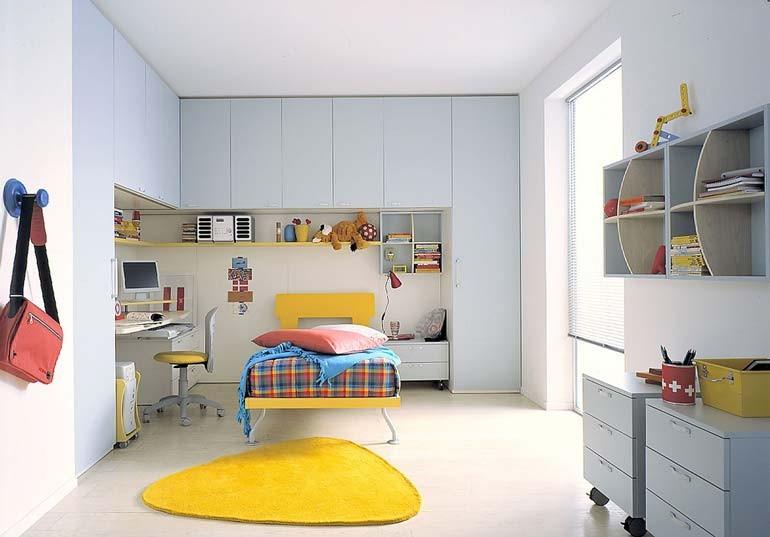 Interesting camerette letti a castello e scrivanie camere per bambini e with scrivanie per - Scrivanie da camera ...