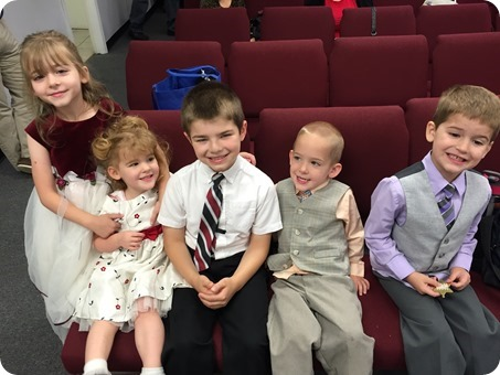Kids with Gabriel