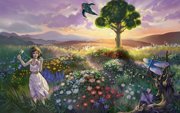 Magick Landscape From Dream, Magical Landscapes 6