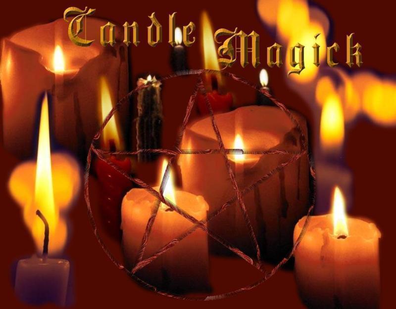 Candle Magic Pentacle, Candle Magic