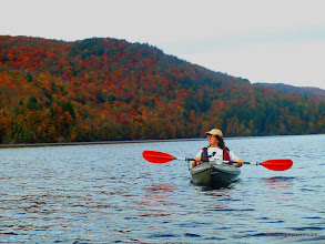 Photo: Fall kayaking at Little River State Park