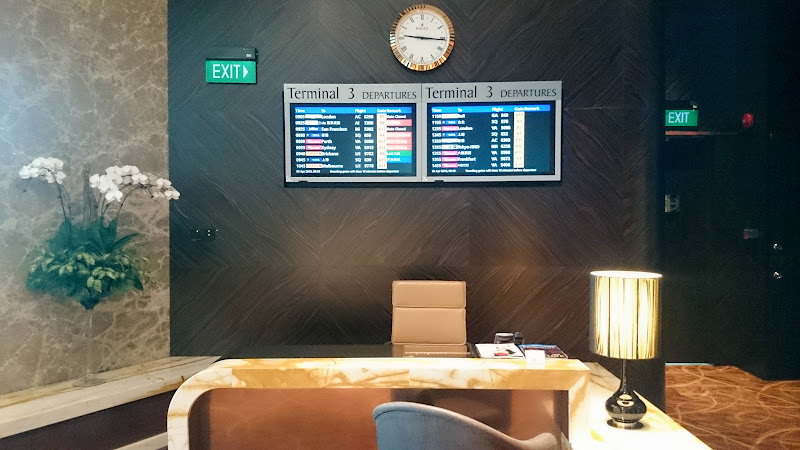 SIN%252520PVG 18 - REVIEW - Singapore Airlines : The Private Room First Class Lounge [Breakfast Service], SIN T3