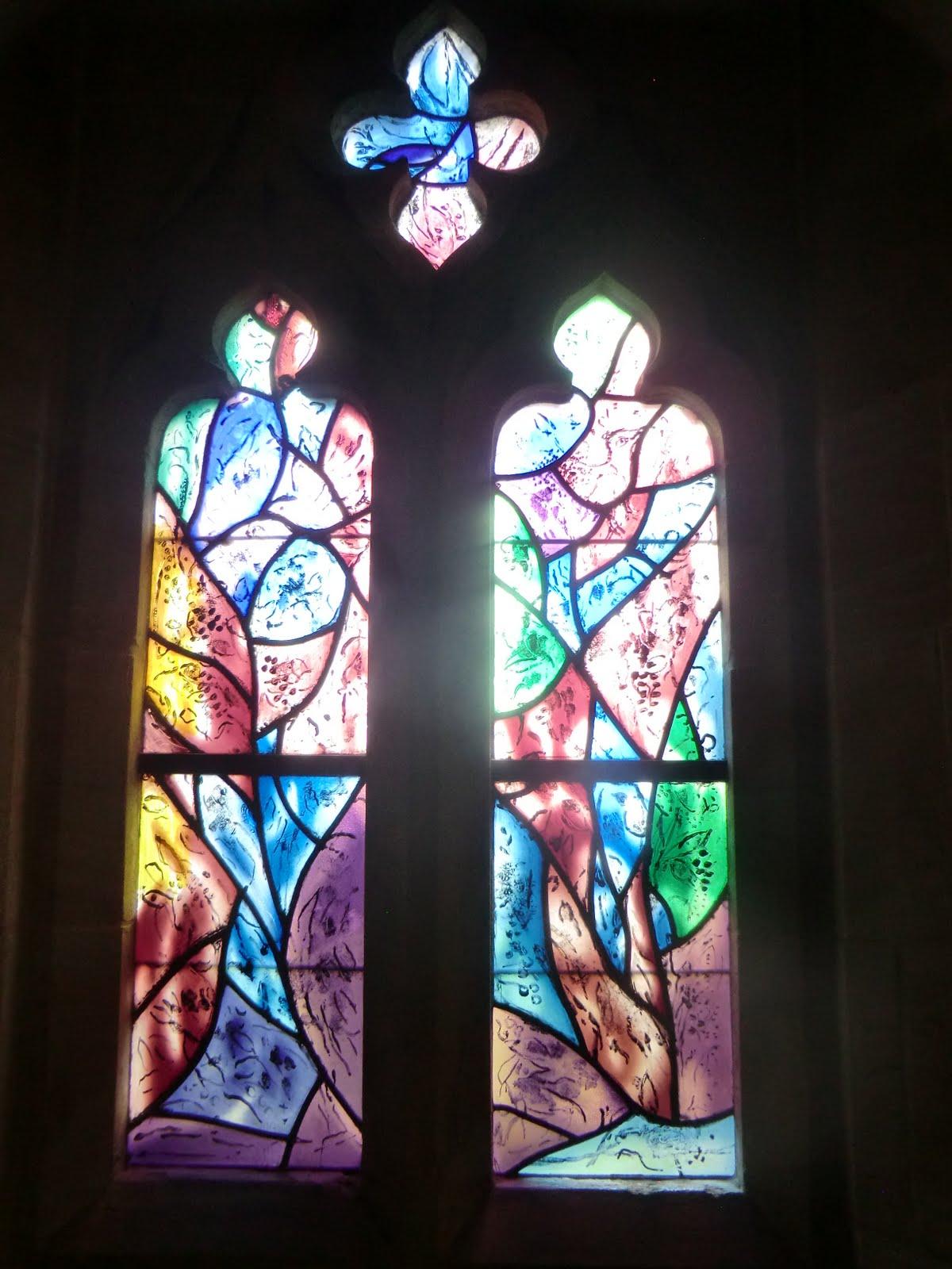 CIMG1563 Chagall window #5, All Saints church