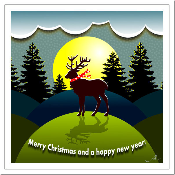 christmas_postcard_with_reindeer_by_aalmeidah-d9h8l4n
