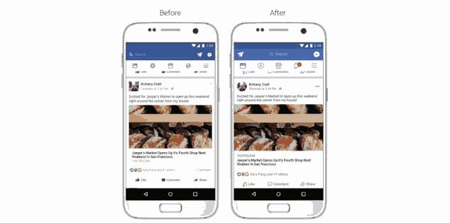 Facebook 📢Announces 📰News Feed Interface Changes
