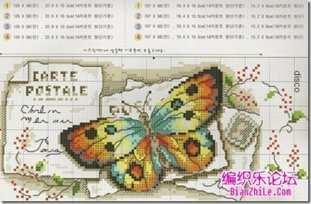 mariposas punto cruz (3)