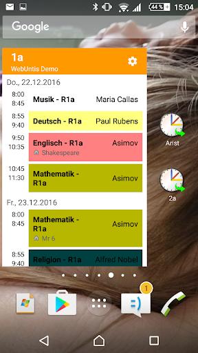 Untis Mobile  screenshots 2