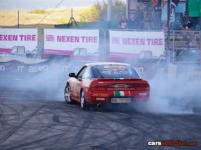 Red Nissan S13