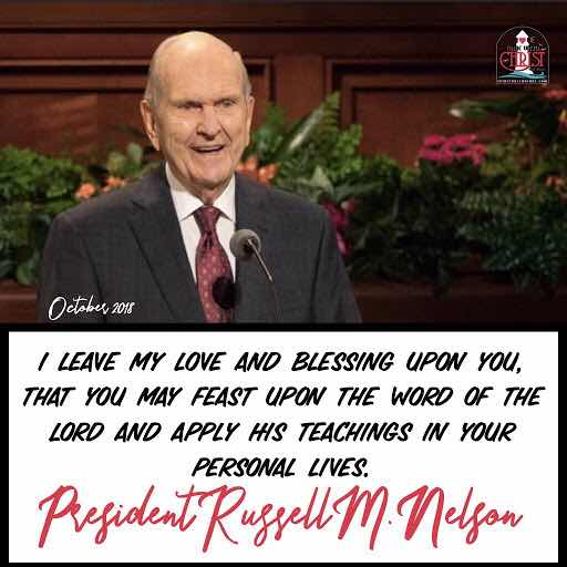 10 Promise Filled Quotes By President Russell M Nelson Becoming Exemplary Latter Day Saints Spiritual Crusade
