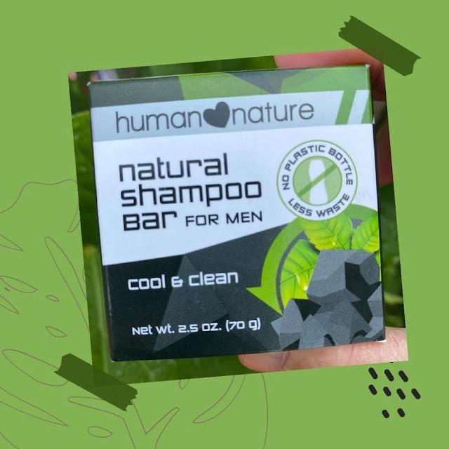 Human Nature Natural Shampoo Bar For Men review