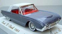 4505 Ford T-Bird cabriolet fermé 1961