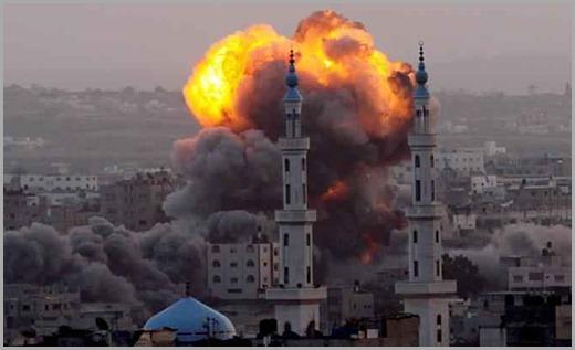 ataque aereo israel gaza