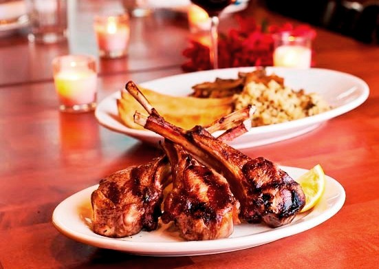 lamb chops, Taverna Opa Orlando