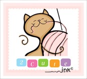2 cute ink logo