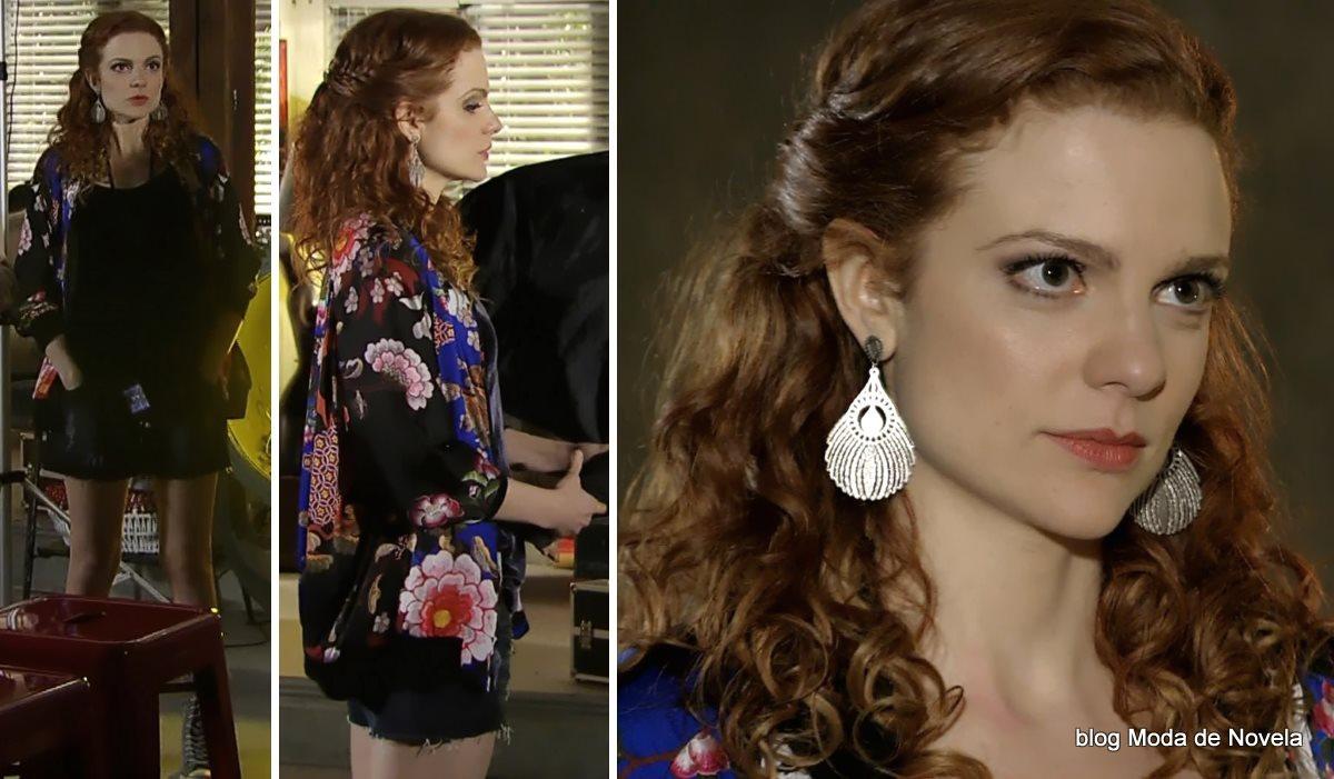 moda da novela Em Família - look da Vanessa dia 2 de julho