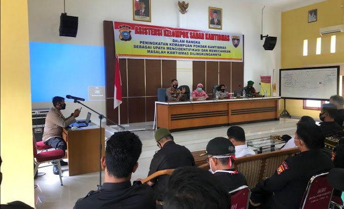 Dirbinmas Polda Riau Realisasikan Rencana Kerja TA 2021